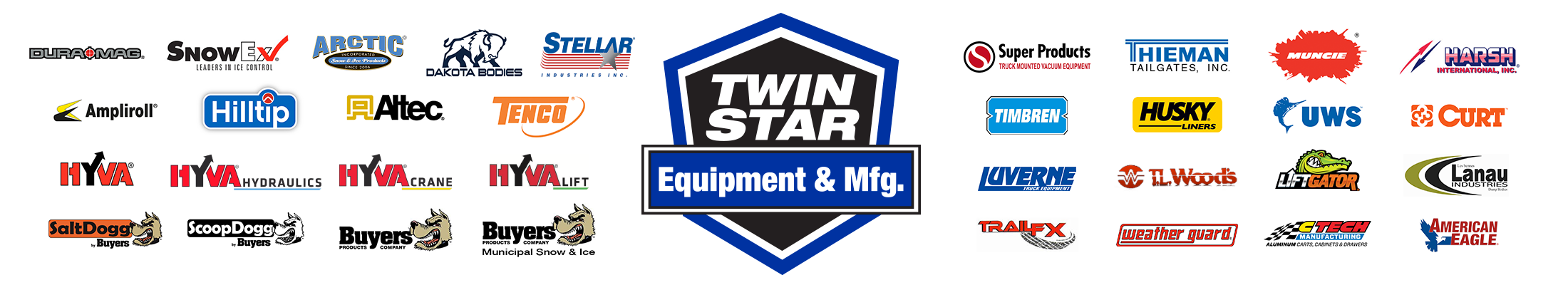 Twin Star Truck Equipment Logo